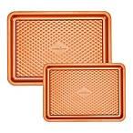 Copper Chef™ Diamond Bakeware 2-Piece Nonstick Cookie Sheet Set