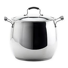 Epicurious® 18 qt. Stainless Steel Covered Stock Pot