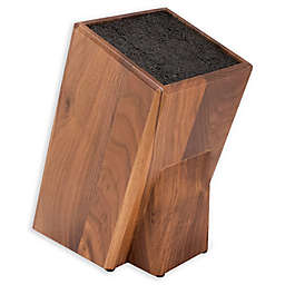Kapoosh® Universal Cutlery Block in Walnut