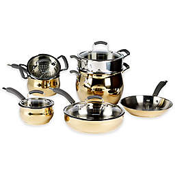 Epicurious® 11-Piece Stainless Steel Cookware Set