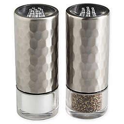 Olde Thompson Diamond Salt and Pepper Shaker Set in Stainless Steel