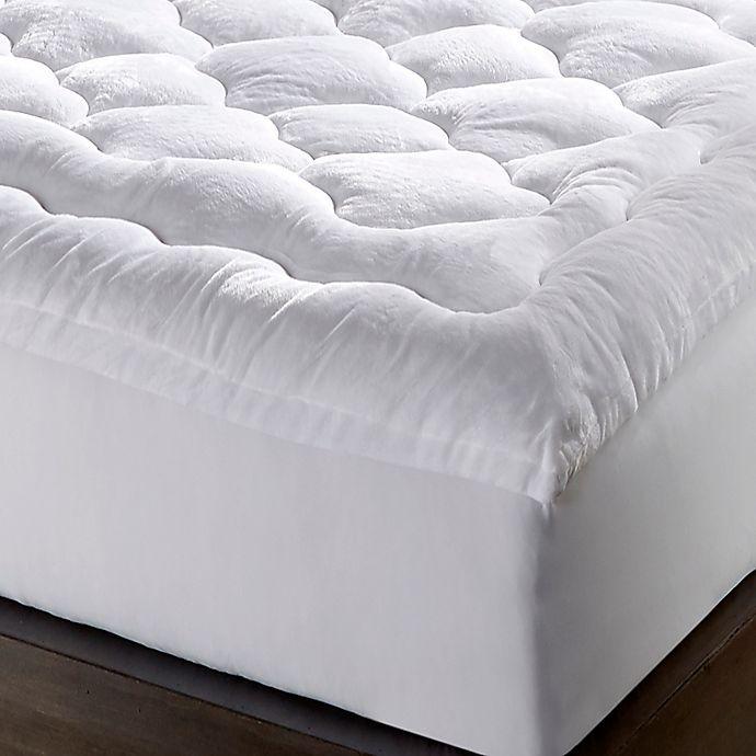 Hotel Laundry® Micro Mink Mattress Topper | Bed Bath & Beyond