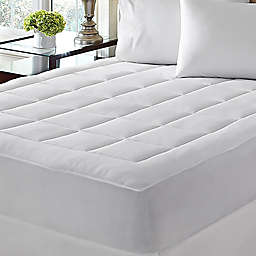 Dream Cloud™ Microplush Twin Mattress Pad in White