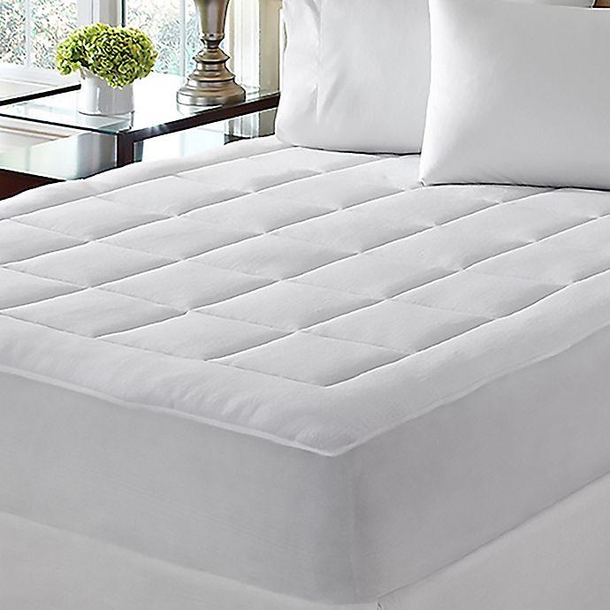 Alternate image 1 for Dream Cloud™ Microplush California King Mattress Pad in White