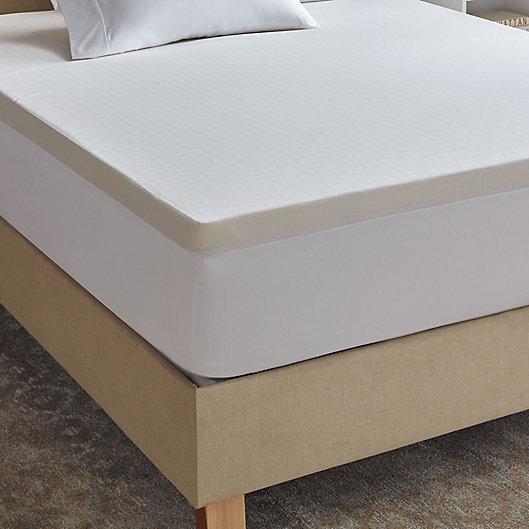 Alternate image 1 for Therapedic® Comfort 2-Inch Memory Foam Twin XL Mattress Topper