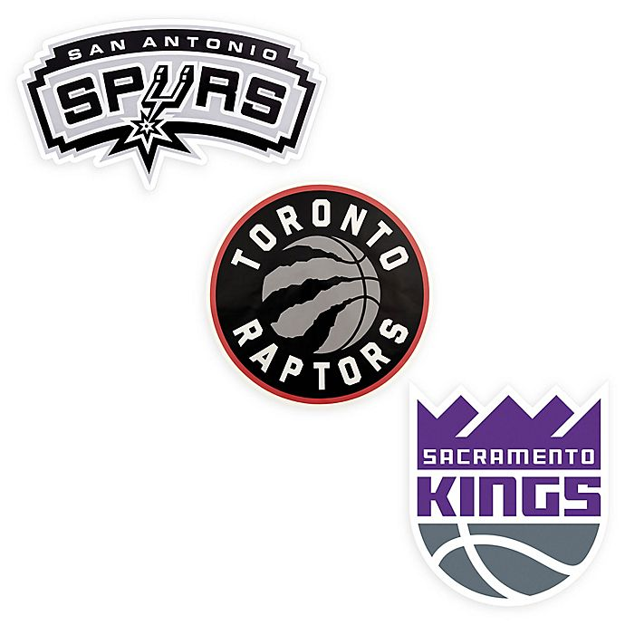 Alternate image 1 for NBA Logo Outdoor Decal Collection
