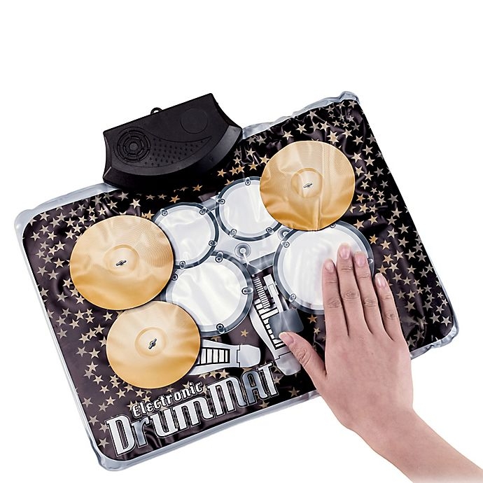 Alternate image 1 for Electronic Drum Kit Mat