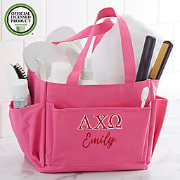Alpha Chi Omega Embroidered Shower Caddy