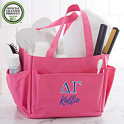 Delta Gamma Embroidered Shower Caddy