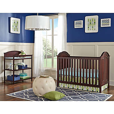 Imagio Baby by Westwood Designs Harper Cottage Convertible Crib in Chocolate