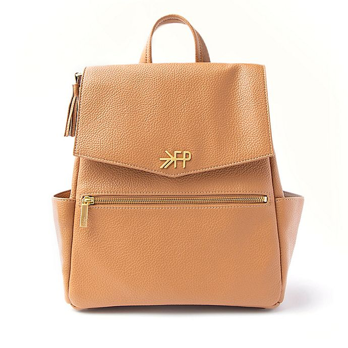Alternate image 1 for Freshly Picked Classic Mini Diaper Bag in Butterscotch