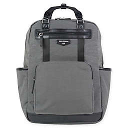 TWELVElittle Courage Backpack Diaper Bag in Grey