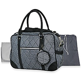 Wendy Bellissimo™ Quilted Duffle Style Diaper Bag