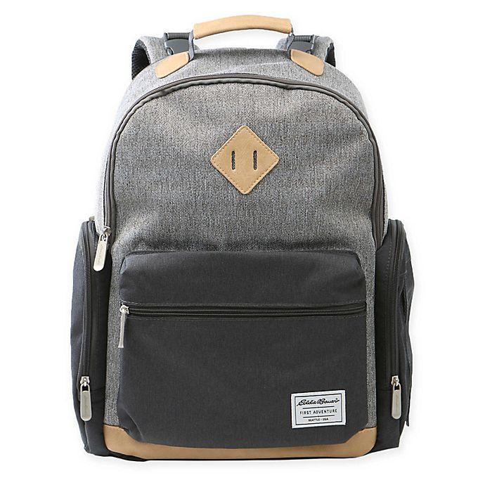 Alternate image 1 for Eddie Bauer® Bridgeport Backpack Diaper Bag