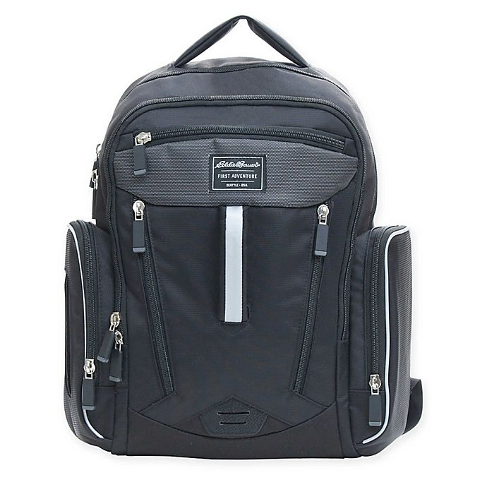 Alternate image 1 for Eddie Bauer® Places & Spaces Sporty Backpack Diaper Bag