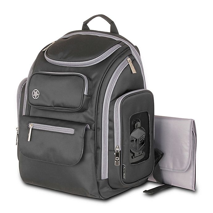 Alternate image 1 for Jeep® Perfect Pockets Backpack Diaper Bag
