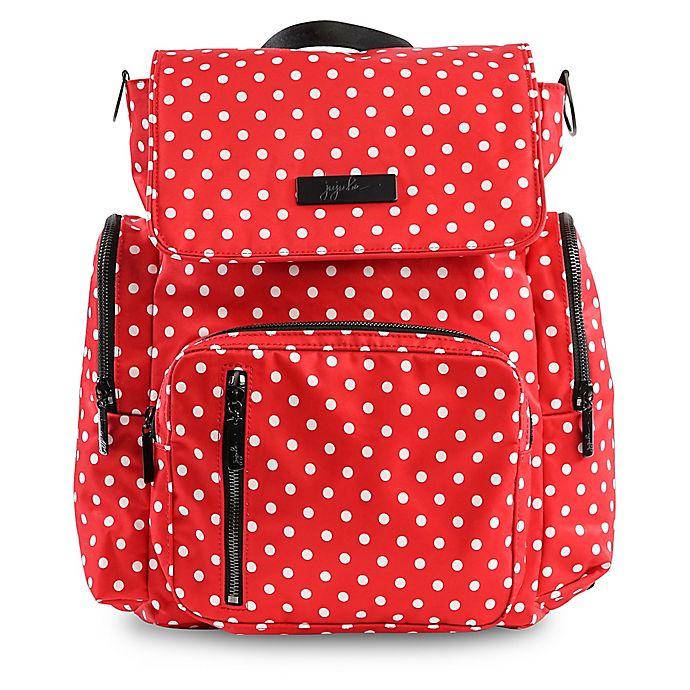 Alternate image 1 for Ju-Ju-Be® Be Sporty Backpack Style Diaper Bag in Black Ruby
