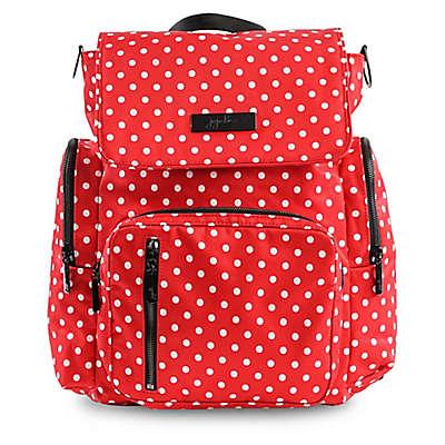 Ju-Ju-Be® Be Sporty Backpack Style Diaper Bag in Black Ruby