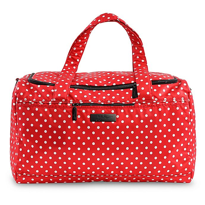 Alternate image 1 for Ju-Ju-Be® Super Star Duffle Diaper Bag in Red