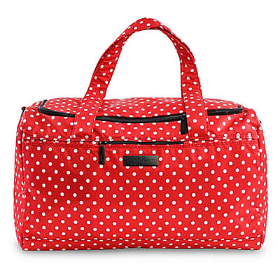 Ju-Ju-Be® Super Star Duffle Diaper Bag in Red