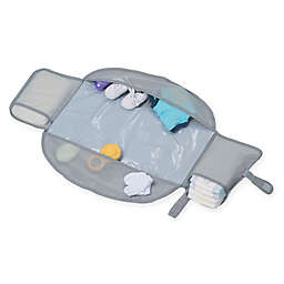 LulyBoo® Diaper Changing Travel Kit in Grey