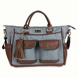 Convertible Diaper Bag in Heather Grey