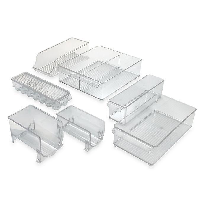 Alternate image 1 for InterDesign® Fridge Binz™ Plastic Refrigerator Bins