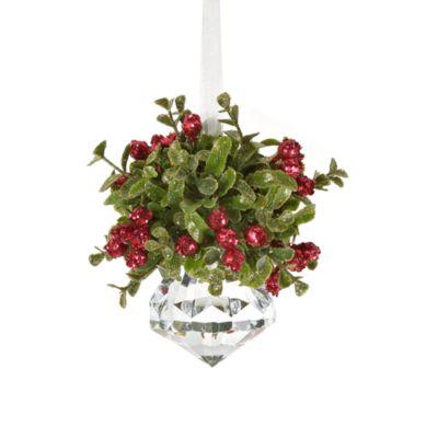 Kissing Krystal Small Christmas Mistletoe Ornament Bed Bath Beyond