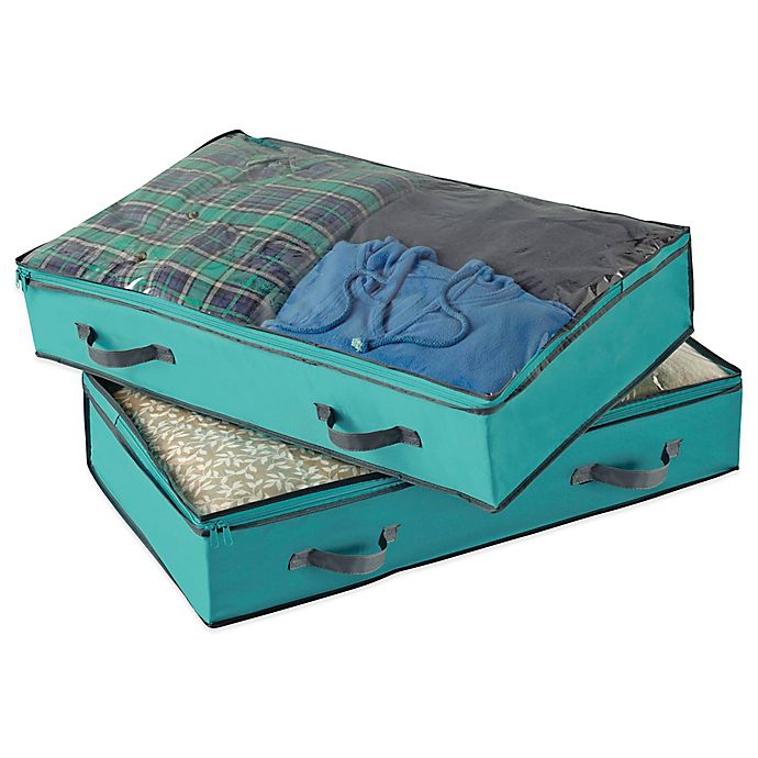 Alternate image 1 for Studio 3B™ Underbed Storage Bags (Set of 2)
