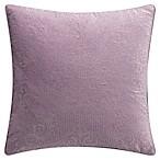 Bridge Street Odelia Square Throw Pillow in Elderberry