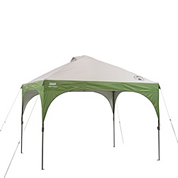 Coleman® Instant Canopy - 10' x 10' (Green and White)
