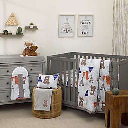 Nojo Reg Dreamer Woodland Animal Tribe 8 Piece Crib Bedding Set