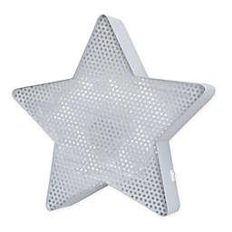 NoJo® Little Love Star Light Up Mesh Wall Décor in Grey