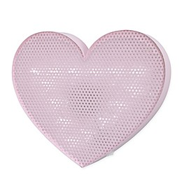 NoJo® Little Love Heart Light Up Mesh Wall Décor in Pink