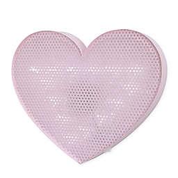 NoJo® Little Love Heart Light Up Mesh Wall Décor in Pink
