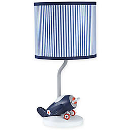 carter's® Take Flight Lamp Base and Shade in Blue