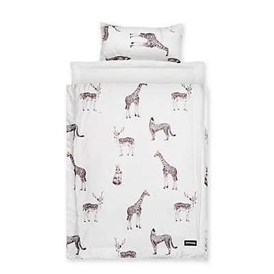 Reversible Air Mesh Retro Animal Nap Mat in White