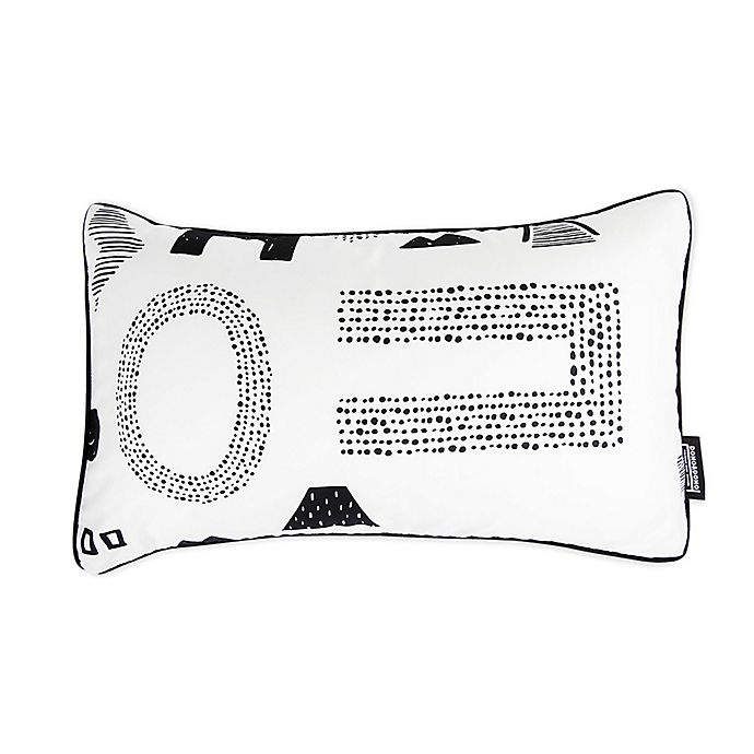 Alternate image 1 for Toddler Air Pillow in Maze Letter