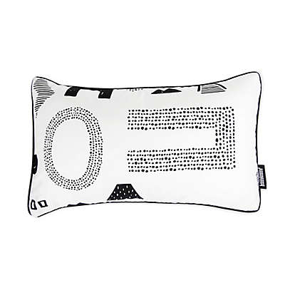 Toddler Air Pillow in Maze Letter
