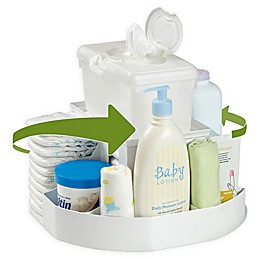 The Spin Diaper Changing Station in White
