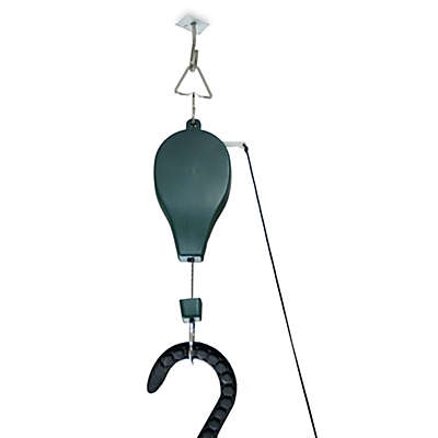 Riverstone Plant Caddie™ 3-Pack Hanging Plant Pulley System