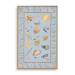 Momeni 'Lil Mo Classic LMI-02 Area Rug in Baby Blue
