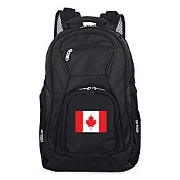 Mojo Canada 19-Inch Premium Laptop Backpack in Black
