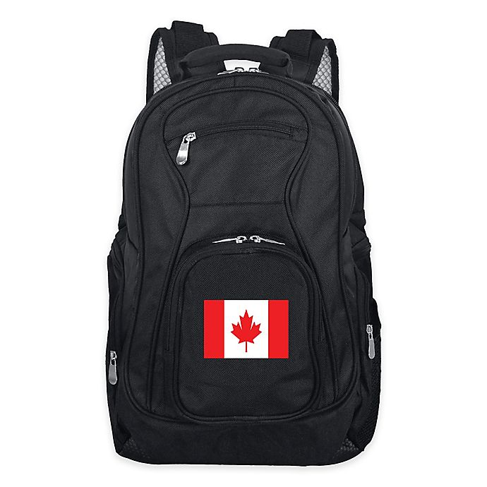 Alternate image 1 for Mojo Canada 19-Inch Premium Laptop Backpack in Black