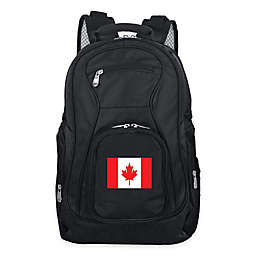 Mojo Canada 19-Inch Premium Laptop Backpack in Black