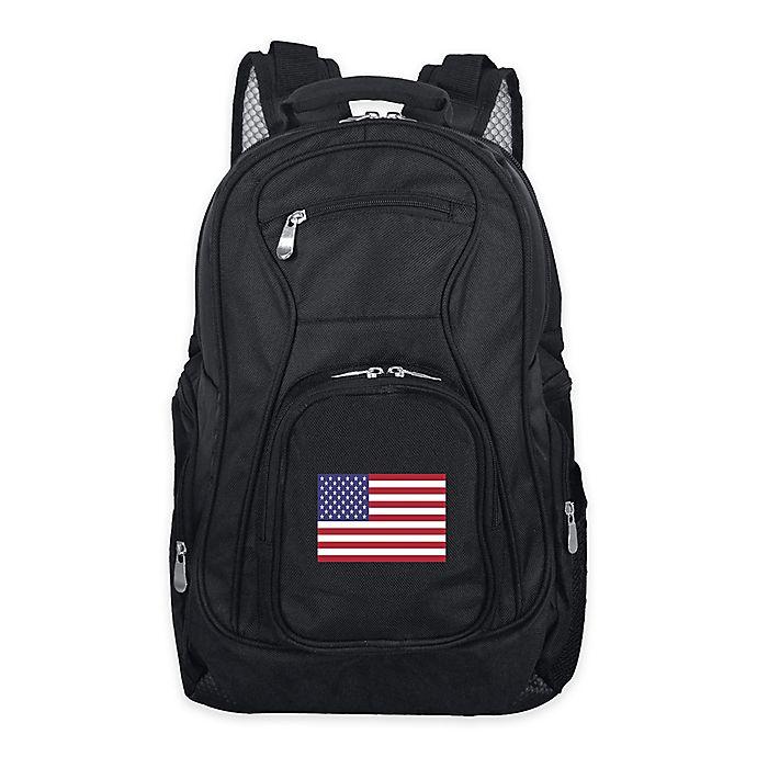Alternate image 1 for Mojo USA 19-Inch Premium Laptop Backpack in Black
