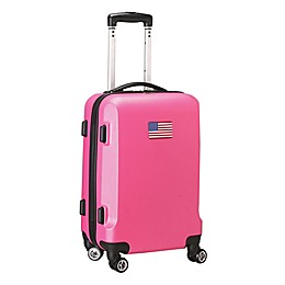 Denco Mojo USA Flag 21-Inch Hardside Spinner Carry-On Luggage