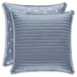 Piper & Wright Braylee European Pillow Sham in Indigo