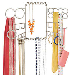 iDesign® Classico Wall-Mounted Jewelry and Accessory Organizer