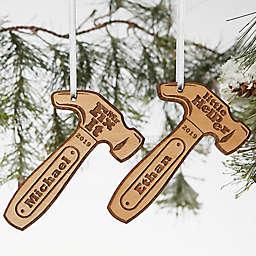 Mr. Fix-It Wood Hammer Ornament